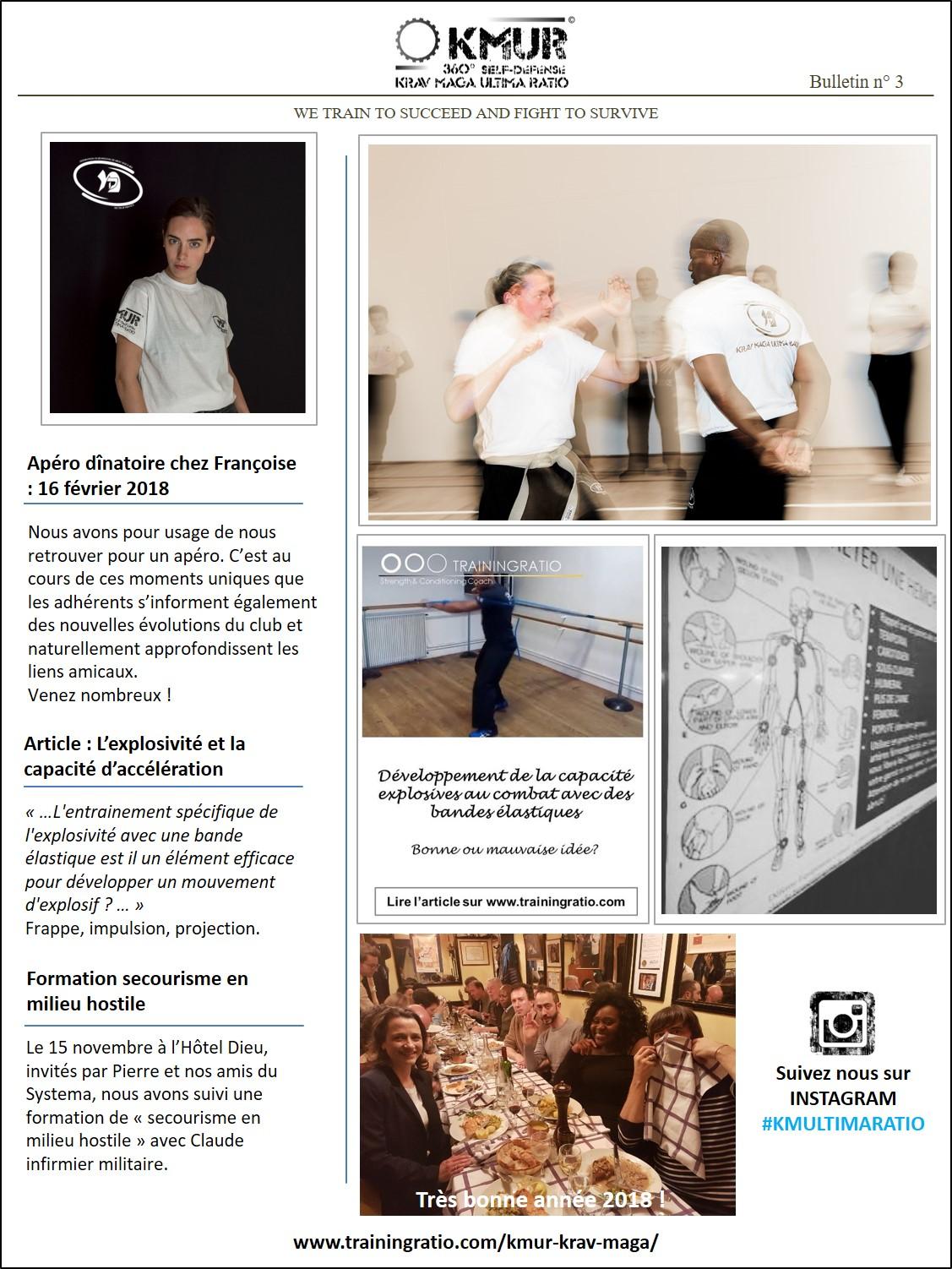 Bulletin d'information KMUR N°3